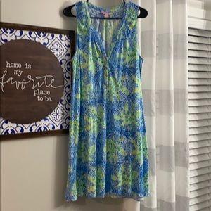 EUC Lilly Pulitzer Essie dress size large